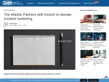 The Atlantic Partners with Knotch to elevate Content marketing