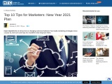 Top 10 Tips for Marketers: New Year 2021 Plan