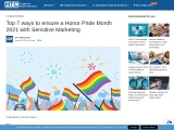 Top 7 ways to ensure a Honor Pride Month 2021 with Sensitive Marketing
