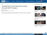TrustedChoice.com Enhances Locally-Focused SEO Program
