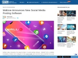 Wallzoe Announces New Social Media Posting Software