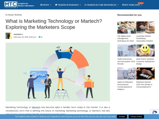 What is Marketing Technology or Martech? Exploring the Marketers Scope