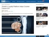 Zinrelo's Loyalty Platform helps Counter Culture DIY