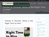 When is the Right Time to Hiring Painter in Toronto?