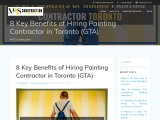 Know the Benefits of Hiring Painting Contractor Toronto
