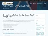 Drywall Installation & Contractor in Toronto | Mas Construction