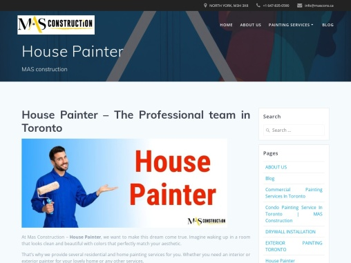 Hire Best House Painter in Toronto – Painter For House