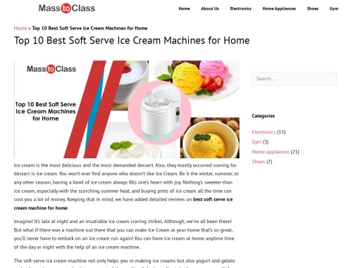 Best Soft Serve Ice Cream Machines for Home