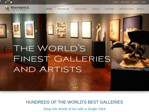 Masterpiece Online – Buy From World's Biggest Online Art Collection