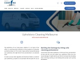 Upholstery Cleaning Melbourne | Masters of Steam and Dry Cleaning