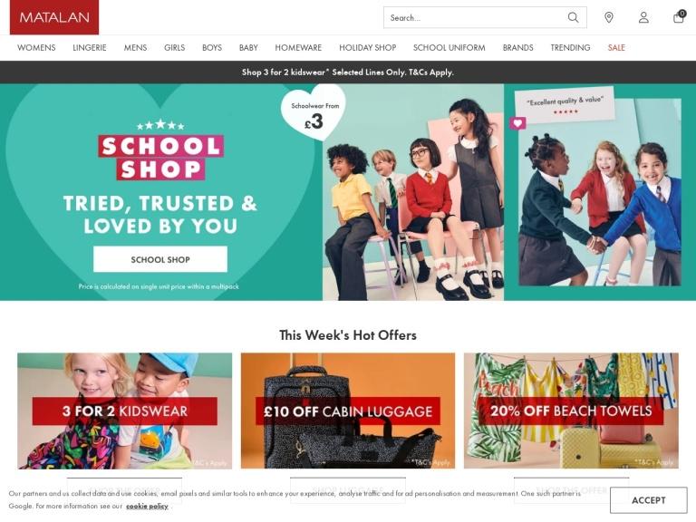 Matalan Discount Codes & Promo Codes screenshot