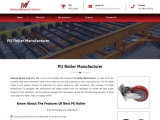 PU Moulded Products Manufacturer