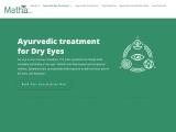 Ayurvedic Treatment for dry Eye