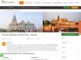 Mathura Vrindavan Tour Packages From Delhi