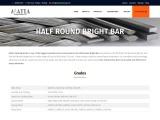 Matta Drawing Works Half Round Bright Bar Manufacturer