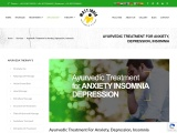 Ayurvedic Treatment For Anxiety Insomnia