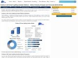 Global Outdoor LED Smart Lighting Solution Market