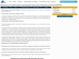 Global Vacuum Concentrators Market