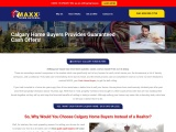 Calgary Home Buyers | Sell your House in Calgary | Maxx Cash Home Buyers