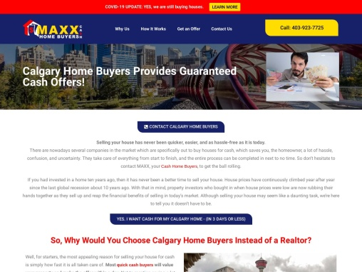 Calgary Home Buying Company | Sell House Privately | Maxx Cash Home Buyers