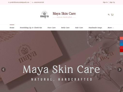 Maya skincare handmade products