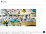 Best event planners in chennai   Event planners in chennai