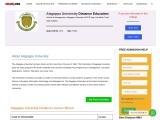 Alagappa University Distance Education