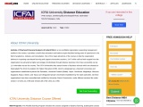 Distance MBA From ICFAI University   Distance Learning Fees MBATours