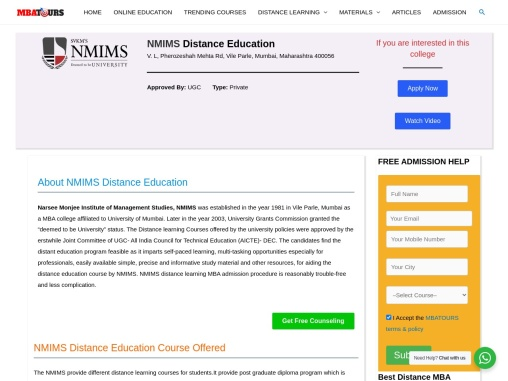 Top Distance Colleges & Universities in India | Courses, Fee