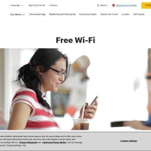 McDonald's Wi-Fi: Restaurants with Free Wi-Fi | McDonald's