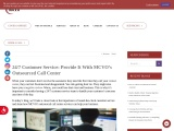 24/7 Customer Service: Provide It With MCVO's Outsourced Call Center