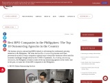 Best BPO Companies in the Philippines: The Top 10 Outsourcing Agencies in the Country