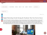 Digital Marketing Trends During the Pandemic That You Need to Know | MCVO Talent Outsourcing Service