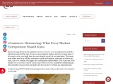 eCommerce Outsourcing: What Every Modern Entrepreneur Should Know | MCVO Talent Outsourcing Services