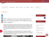 How do I know if BPO (Business Process Outsourcing) of office jobs would work at our company?
