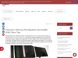 Outsource Software Development Successfully With These Tips | MCVO Talent Outsourcing Services