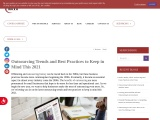 Outsourcing Trends and Best Practices to Keep in Mind This 2021 | MCVO Talent Outsourcing Services