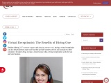 Virtual Receptionist: The Benefits of Hiring One | MCVO Talent Outsourcing Services