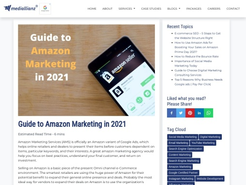 Guide to Amazon Marketing in 2021