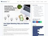 How Digital Marketing Helps your Business Grow?