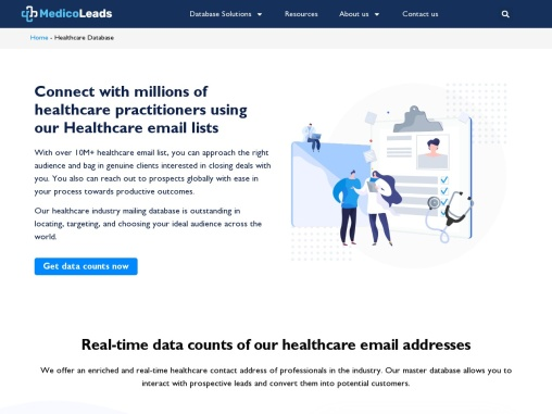 Healthcare Leads   Healthcare Marketing Database