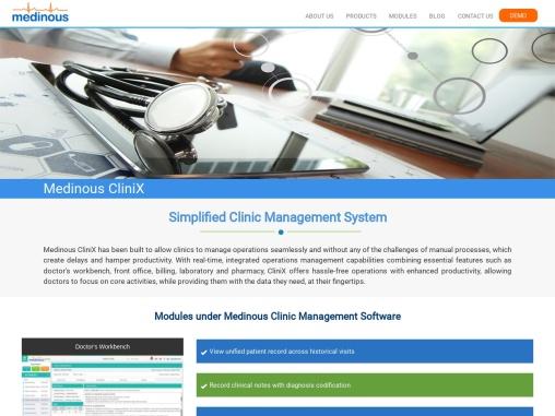 Medinous CliniX- Clinic Management Software