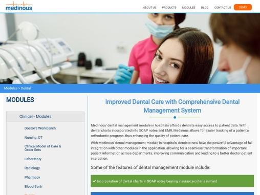 Medinous Dental Management Module