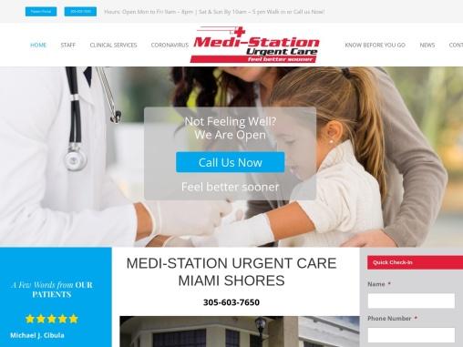 Medi-Station Urgent Care   Urgent Care Center Miami