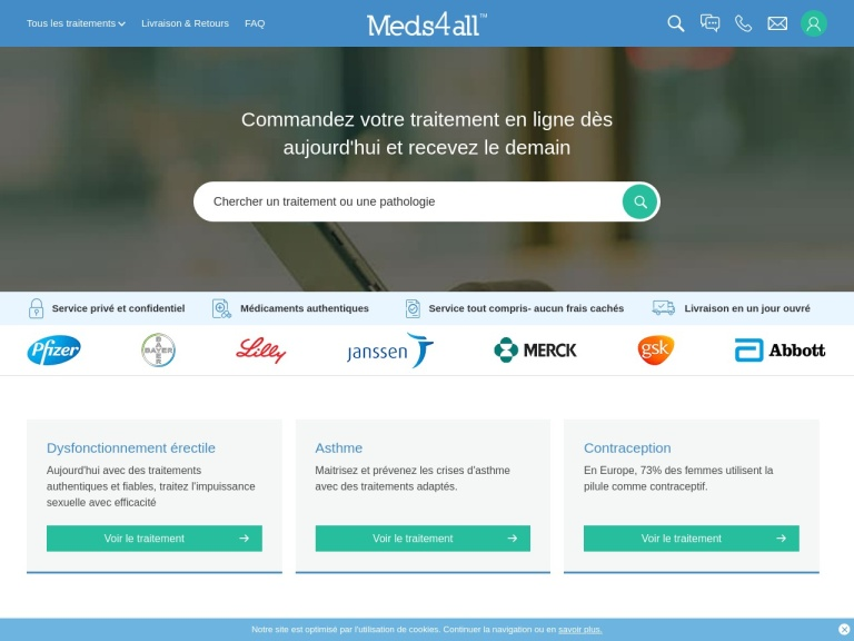 Meds4all screenshot