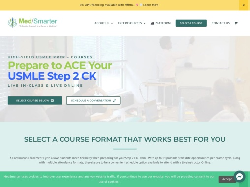 Prepare to ACE Your USMLE Step 2 CK Live in-class & Live online