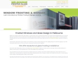 Melbourne Frosted Glass is the reliable and professional installer of Frosted Film, Glass Signage, S
