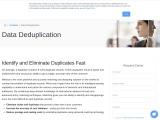 Data Deduplication Software  Melissa AU