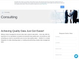 Data Quality Consulting Service