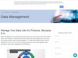 Data Management Solutions Manage Your Data